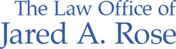 The Law Office of Jared A. Rose Sticky Logo